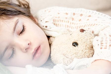 sleeping, child, napping, girl, kid, little, cute