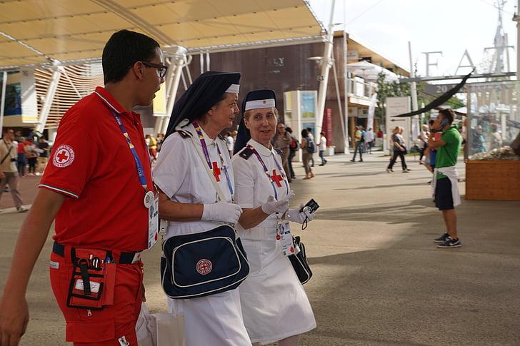 y tá, bác sĩ, Cầu chúa phù hộ cho bạn, Hội chữ thập đỏ, em gái, Nam y tá, nghề nghiệp