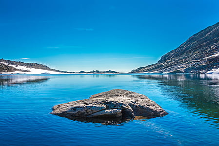 호수, 풍경, 물, 자연, 자연, 산, 아름 다운