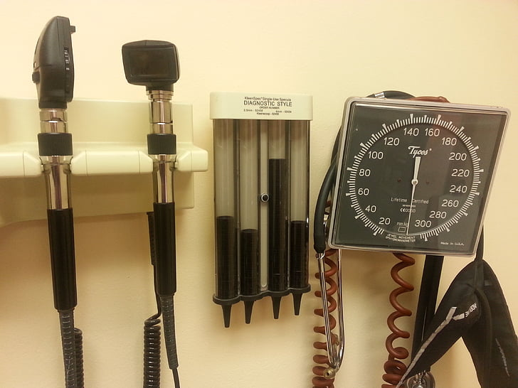 instruments mèdics, examen, mèdica, instrument, Medicina, equips, assistència sanitària