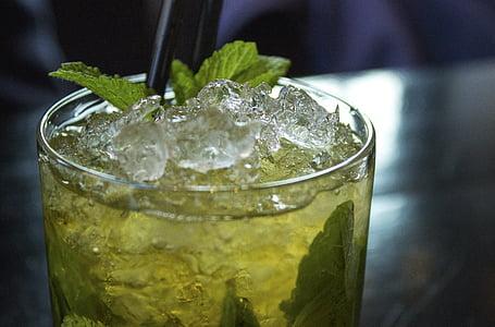 còctel, Mojito, beguda, alcohòliques, l'alcohol, beneficiar-se de, menta