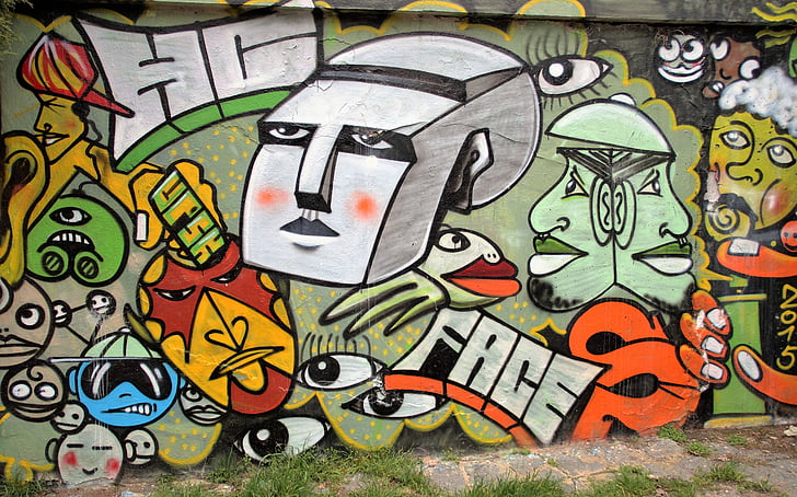graffiti, fal, spray, fogó, streetart, illegális, tilos