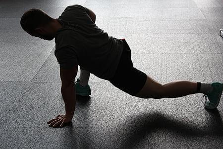 stretchen, участък, топлина, спорт, мускулите, спортен, упражняване