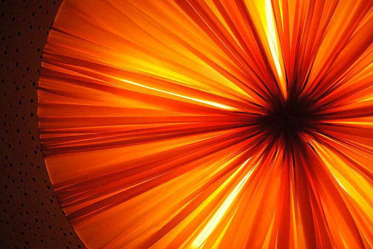 ánh sáng, chiếu sáng, đèn, có vẻ như, tỏa sáng thông qua, ấm áp, màu da cam