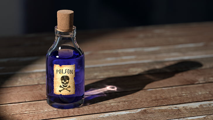 strup, steklenica, medicine, stari, simbol, medicinske, znak