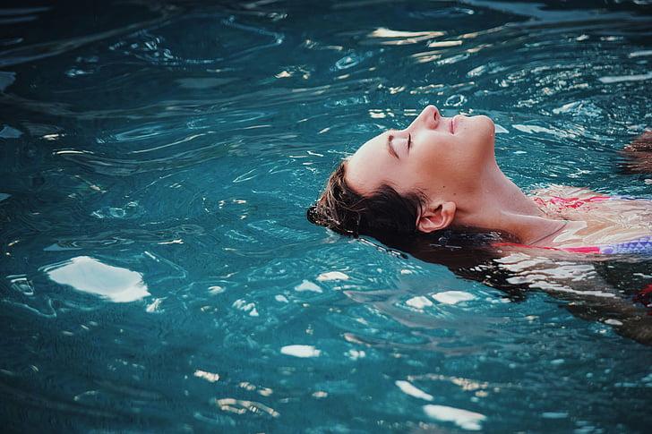 jautri, brīvais laiks, persona, atpūta, atpūsties, relaksējoša, sīki vilnīši