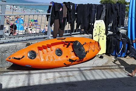 bateau, Paddle, eau, Loisirs, été, amusement, vacances