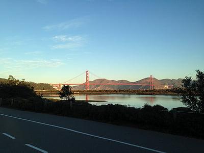 san francisco, Golden gate, Pont, arquitectura, disseny d'arquitectura, estructura, disseny