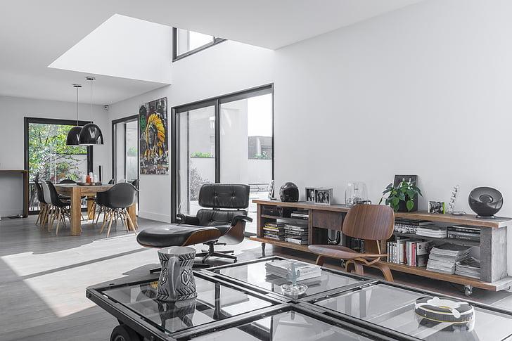 disain, arhitektuur, Art, Avaleht, siseruumides, kaasaegne, kodumaise tuba