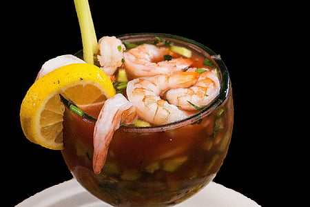 γαρίδες, Θαλασσινά, τροφίμων, Μεξικάνικη, Μεξικό, στη θάλασσα, Φαγητό και ποτό