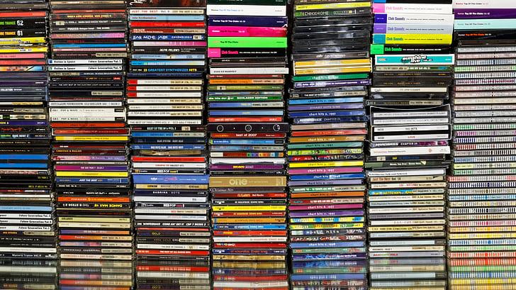 CD, Musiikki, HiFi, Audio, Viihde, Musiikki-cd, kokoelma