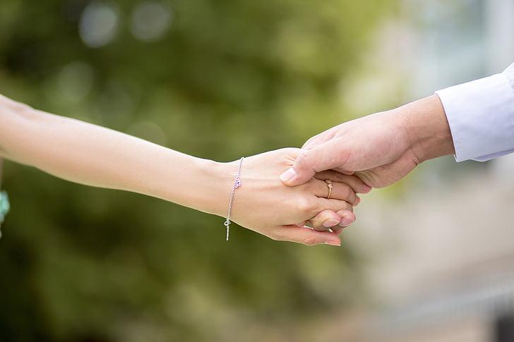 tay đến tay, Yêu, tay trong tay, trái tim, hình ảnh đám cưới, Ngày Valentine, một phần cơ thể con người