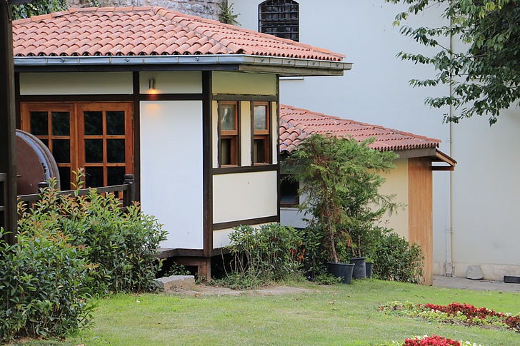 wooden house, on, historic house, turkey, old, houses, historical houses