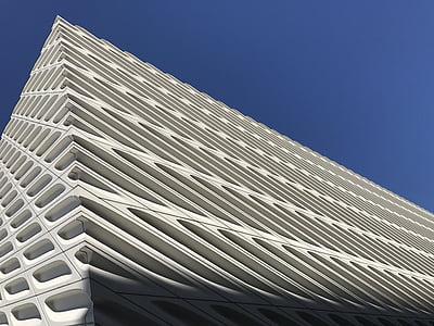 laaja, arkkitehtuuri, rakennus, rakennettu rakenne, pilvenpiirtäjä, rakentamiseen ulkoa, moderni