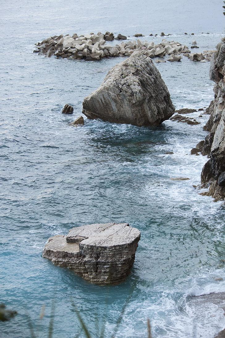 naturen, Ocean, Utomhus, Rocks, natursköna, havet, Seascape