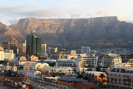 Tabela gorskih, Cape town, Južna Afrika, gorskih, RT, Afrika