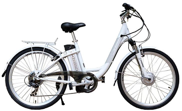 электрические, e велосипед, велосипед, Белый, Справочная информация, велосипедов, колесо