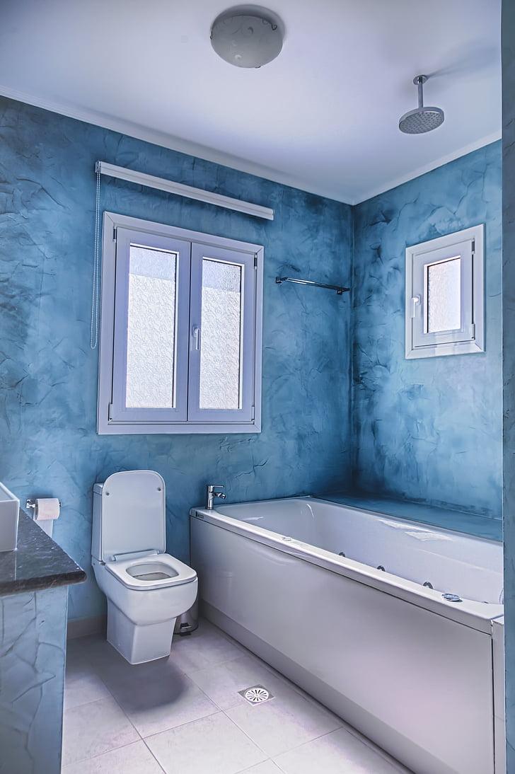 종, 위생, 홈, 화장실, 실내, 현대, 럭셔리