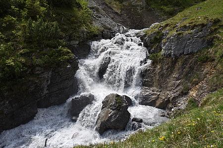 juga, vee, jõgi, veed, Kosed, Füssen, juhtudel
