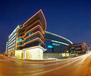 building, windows, glass, corporate, futuristic, structure, exterior
