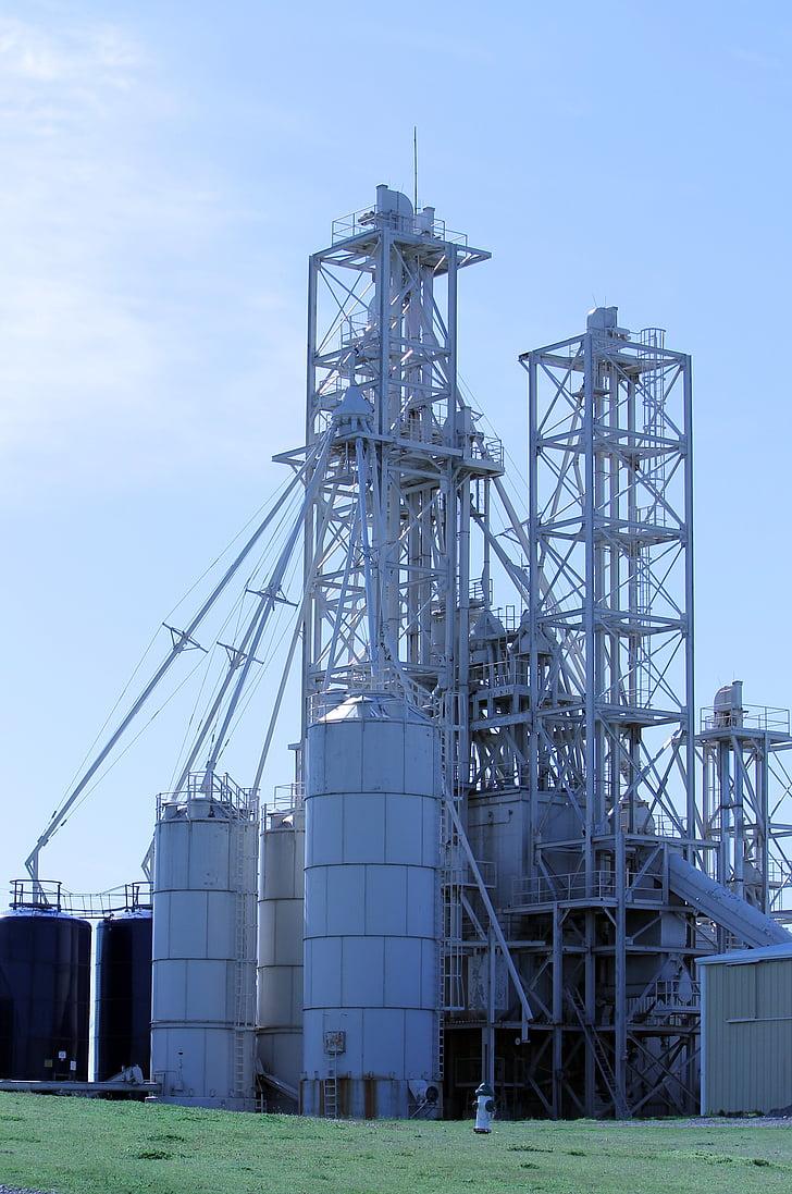 takarmány, Lift, Oklahoma, gabona lift, mezőgazdaság, gabona, iparág