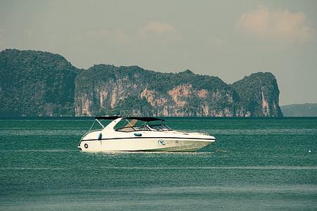 havet, Boot, Thailand, vatten, fartyg, Ocean, resor