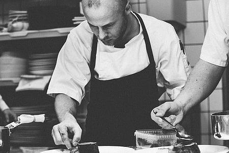 xef, cuina, home, mascle, professional, ocupació, professió