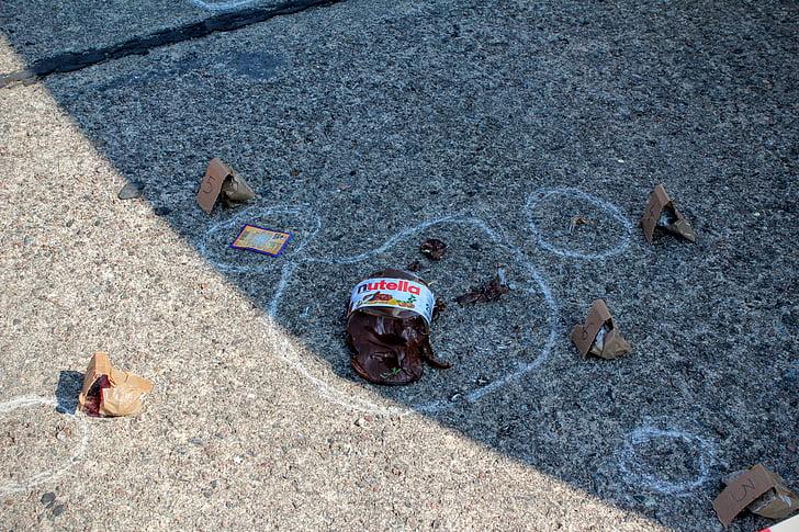 current, investigations, crime scene, discovery, crime, criminal case, nutella