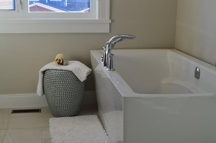 Kylpyamme, Poreallas, Kylpyhuone, Kylpyamme, uiminen, House, Etusivu