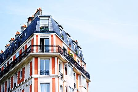 Gedung apartemen, balkon, bangunan, balkon, Apartemen, arsitektur, rumah