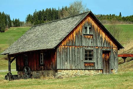 mill, black forest, farmer's mill, architecture, idyllic, romantic, scenic