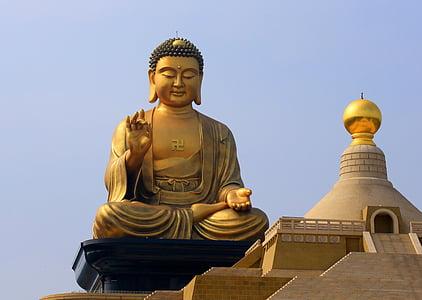 Tchaj-wan, velký buddha, sochy Buddhy, Asie, Buddhismus, Buddha, socha