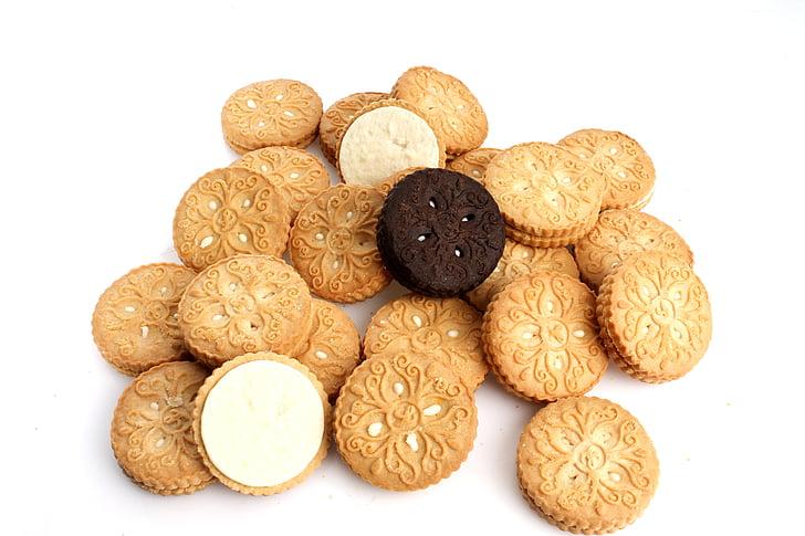galetes, confiteria, un aperitiu, galeta, aliments, galeta, postres