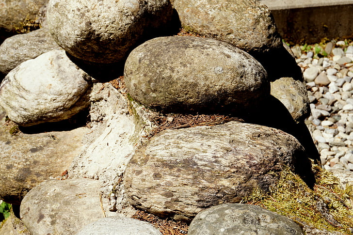 stones, about, rock, nature