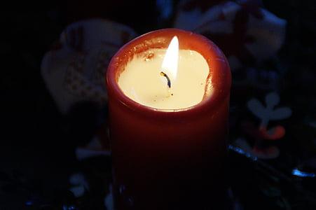 küünal, põletada, Advent, Advent pärg, jõulude ajal, Cozy, vaikne