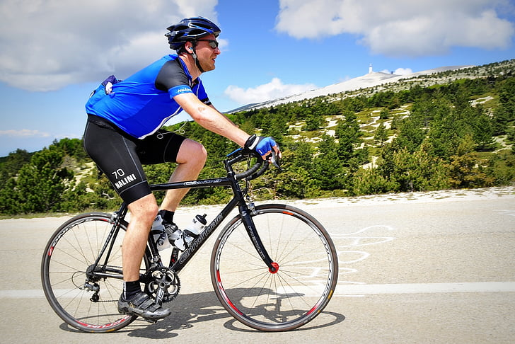 ciclista, ciclista professional, Ciclisme, Mont Ventor, pujar, esports, persones