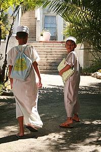 muslimanskih fantov, bokaap, Cape town
