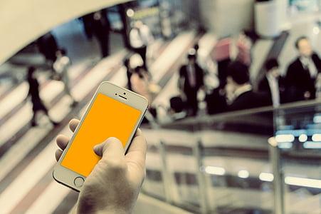 iPhone, negoci, correu electrònic, comunicacions, smartphone, anuncis, telèfon intel ligent