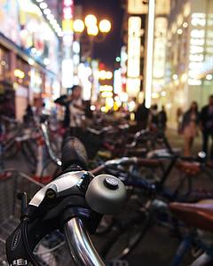 osaka, japan, night, japanese, kansai, travel, tourism