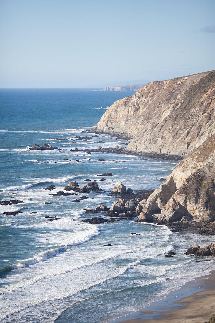 loodus, Ocean, Vaikse ookeani, Beach, taevas, Travel, vee