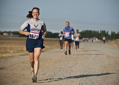 runner, race, competition, female, athlete, marathon, active