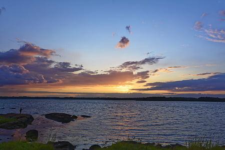 Захід сонця, небо, Сутінки, НД, abendstimmung, хмари, вечірнє небо