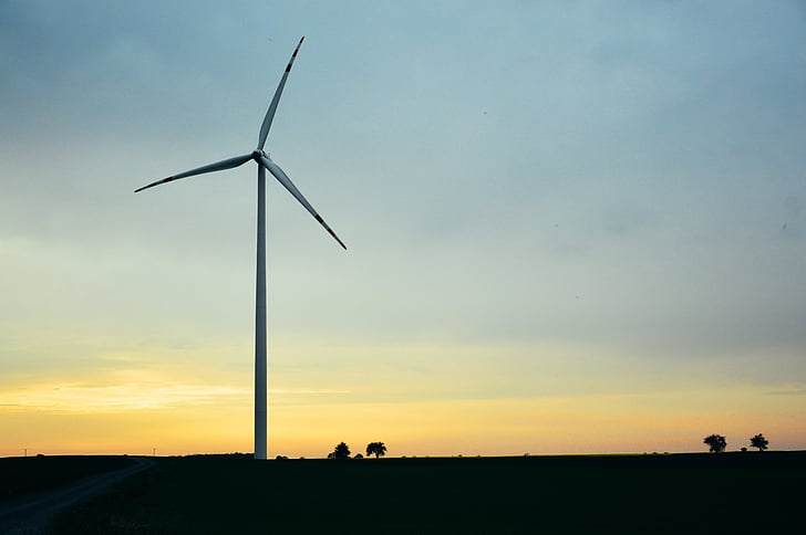 windmill, alternative energy, generator, sky, electricity, power, environmental