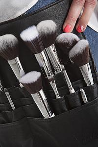 pinzells de maquillatge, pinzells, conjunt pinzell, maquillatge, maquillatge, cosmètica, artista