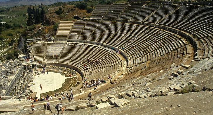 teater, Türgi, Roman, Antiik
