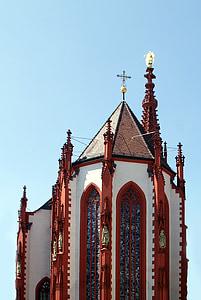 Kościół, Kaplica Najświętszej Maryi Panny w, Würzburg, Historycznie, sekcja, Średniowiecze, we frankach szwajcarskich