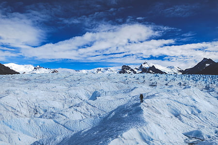 glaciär, Patagonia, Sydpolen, naturen, snö, Argentina, Sydamerika