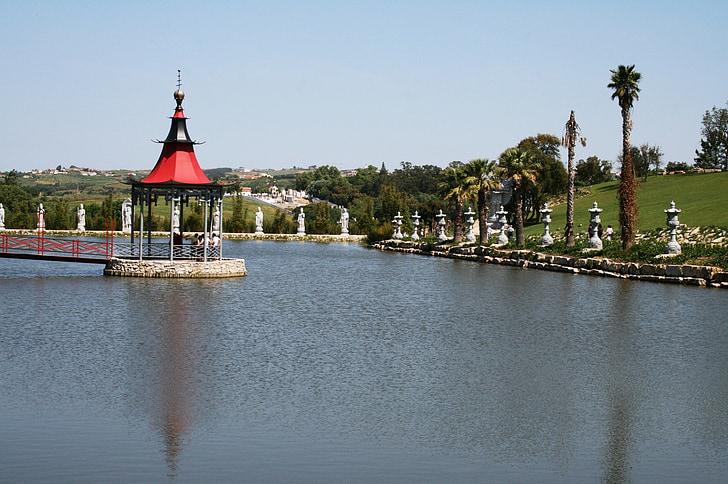 ežeras, Gamta, Harmonija, vandens, kraštovaizdžio