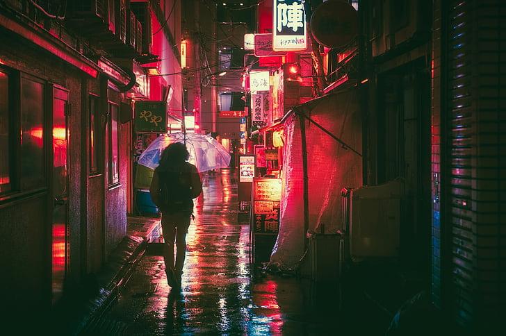 Japó, Osaka, nit, Àsia, punt de referència, viatges, japonès