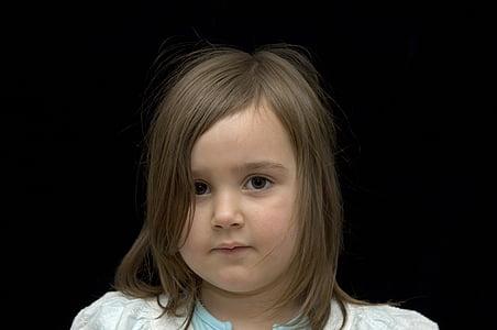Κορίτσι, Χαριτωμένο, το παιδί